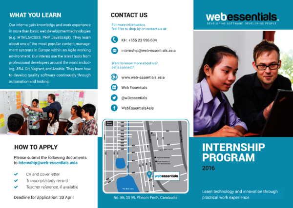 Download our Internship Brochure