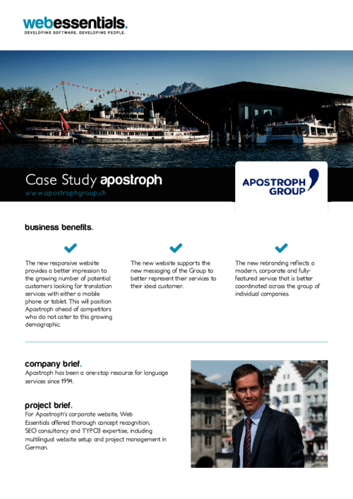 Download Apostroph Case Study