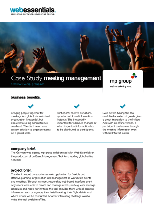 Download Meeting Management Case Study
